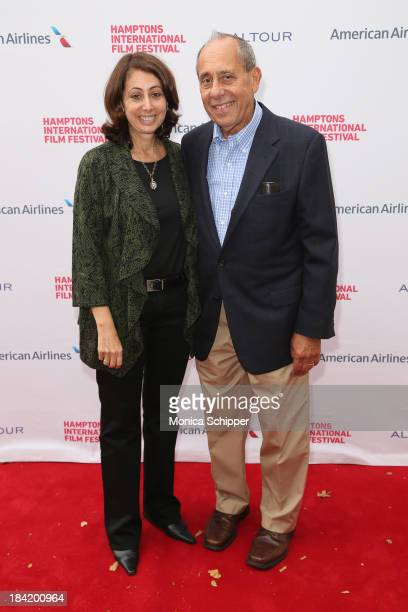 Donna Zaccaro and John Zaccaro attend the 21st Annual Hamptons International Film Festival on October 11 2013 in East Hampton New York