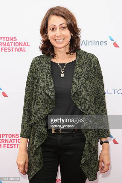 Donna Zaccaro attends the 21st Annual Hamptons International Film Festival on October 11 2013 in East Hampton New York