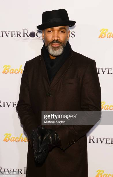 Donnell Turner arrives at Bachelor Lions Film Premiere on January 9 2018 in Hollywood California