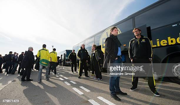 Donnerstag , 1. Fussball - Bundesliga Saison 13/14 - in La Manga / Spanien,BV Borussia Dortmund im Trainingslager La Manga in Spanien,Sportdirektor...