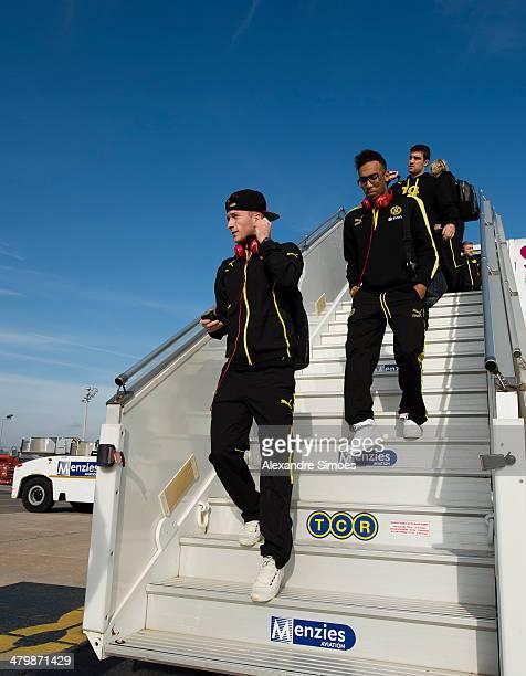 Donnerstag , 1. Fussball - Bundesliga Saison 13/14 - in La Manga / Spanien,BV Borussia Dortmund im Trainingslager La Manga in Spanien,Marco Reus und...