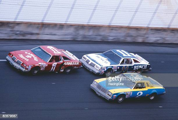 Donnie Allison leads Cale Yarborough in the '79 Daytona 500, seeking his first victory in the most famous stock car race ever. After the pair crashed...