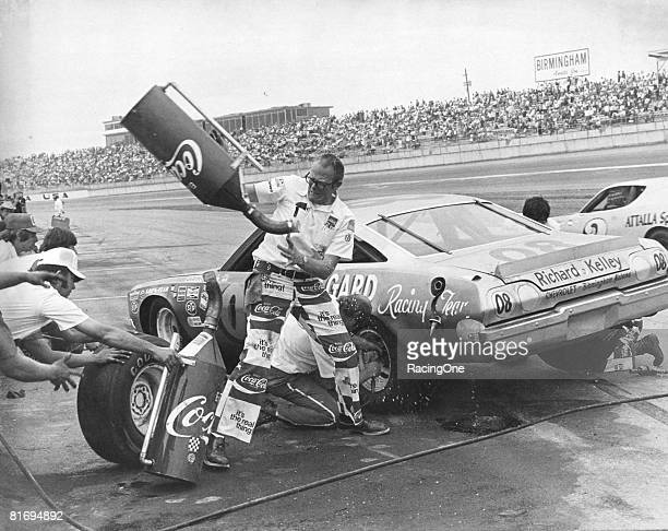 Donnie Allison was getting off to a good start in the new DiGard team finishing 2nd in the 1973 Winston 500 His earliest number was 08 and the...