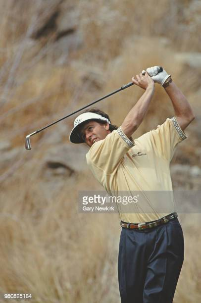 Donnie Hammond of the United States during the Bob Hope Chrysler Classic golf tournament on 20 February 1994 at the PGA West in La Quinta California...