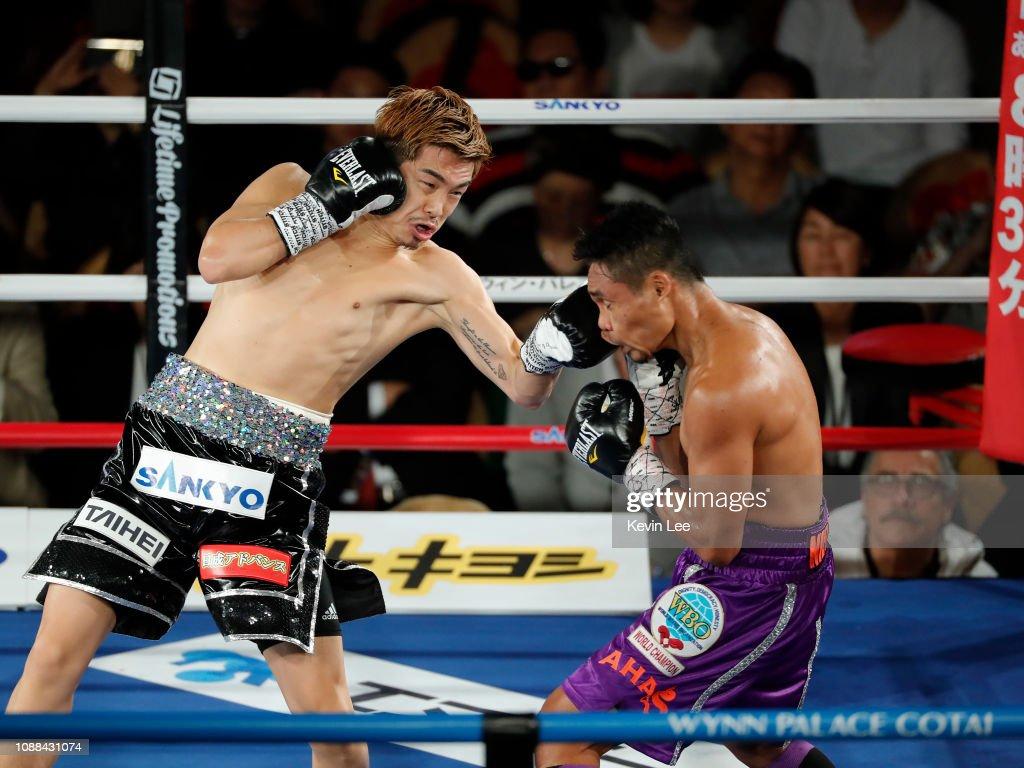Donnie Nietes v Kazuto Ioka - WBO Super Flyweight Title Bout : ニュース写真