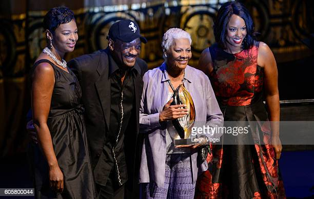 Donnie Simpson and Lifetime Achivement Award winner Dionne Warwick pose during the Congressional Black Caucus' 20th Annual Celebration of Leadership...