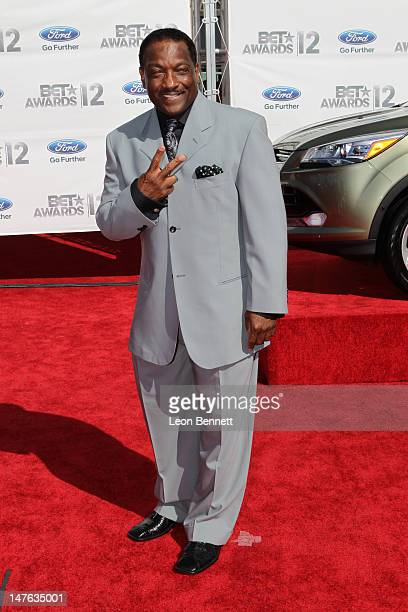 Donnie Simpson arrives at the 2012 BET Awards Red Carpet at The Shrine Auditorium on July 1 2012 in Los Angeles California