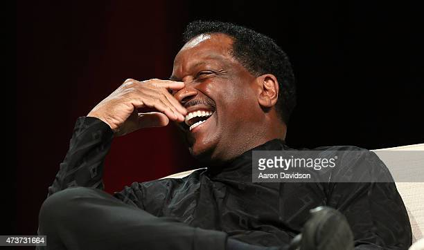Donnie Simpson attends 'A Conversation about Hollywood Radio and Fame' at the AARP Life@50 Expo at the Miami Beach Convention Center on May 15 2015...