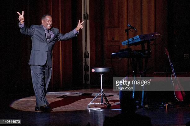 Donnie Simpson performs at the John F Kennedy Center for the Performing Arts on March 3 2012 in Washington DC