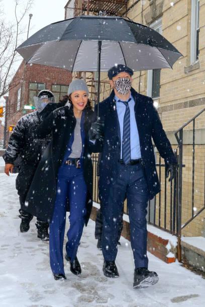NY: Celebrity Sightings In New York City - February 18, 2021