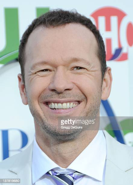 Donnie Wahlberg arrives at the CBS, The CW, Showtime Summer Press Tour Party held at The Tent on July 28, 2010 in Beverly Hills, California.