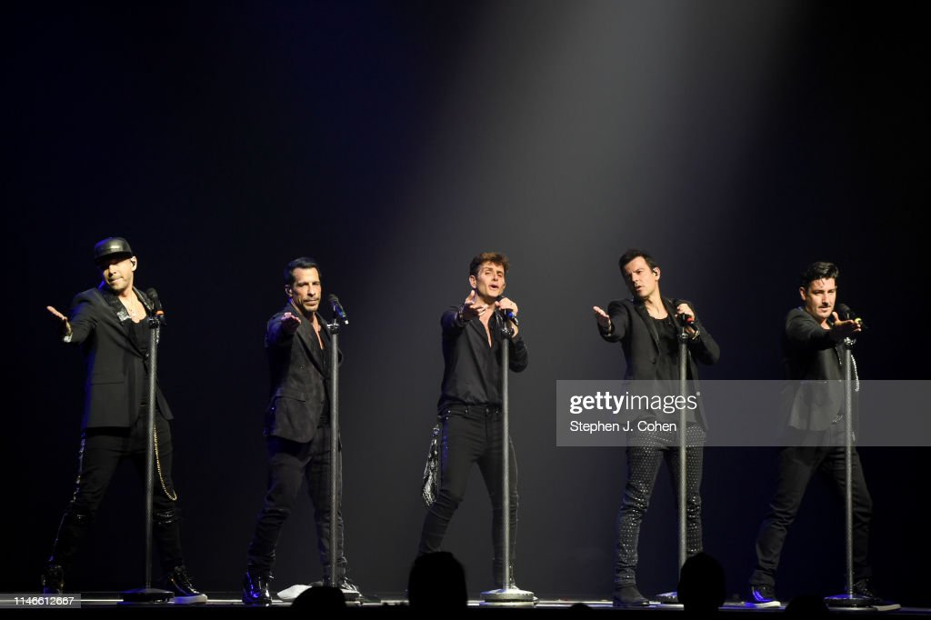New Kids On The Block In Concert - Cincinnati, OH : News Photo