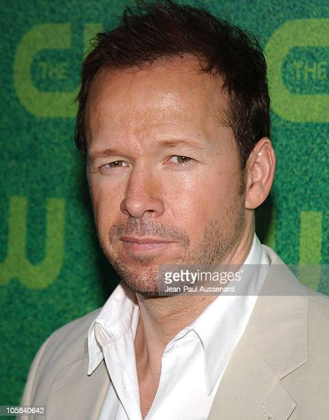 Donnie Wahlberg during The CW Summer 2006 TCA Party - Arrivals at Ritz Carlton in Pasadena, California, United States.