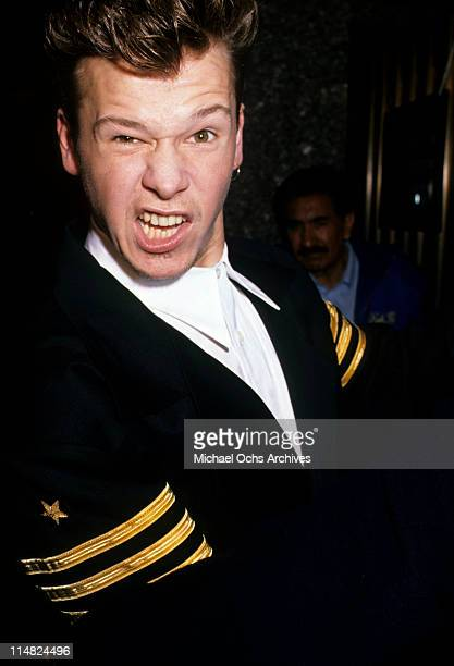 Donnie Wahlberg of New Kids On The Block circa 1990