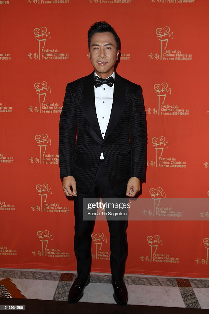 6th Chinese Film Festival  : Cocktail Arrivals At Hotel Meurice In Paris