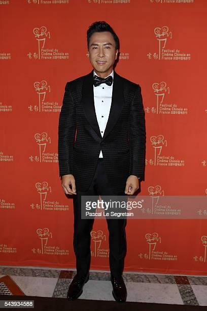 Donnie Yen arrives at the 6th Chinese Film Festival Cocktail at Hotel Meurice on June 30 2016 in Paris France