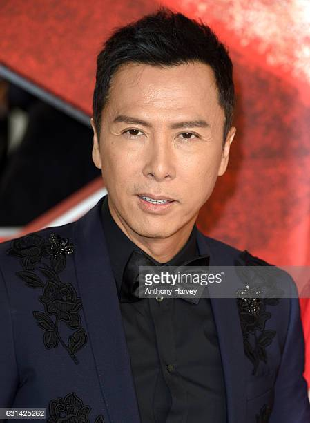 Donnie Yen attends the European premiere of xXx Return of Xander Cage' on January 10 2017 in London United Kingdom