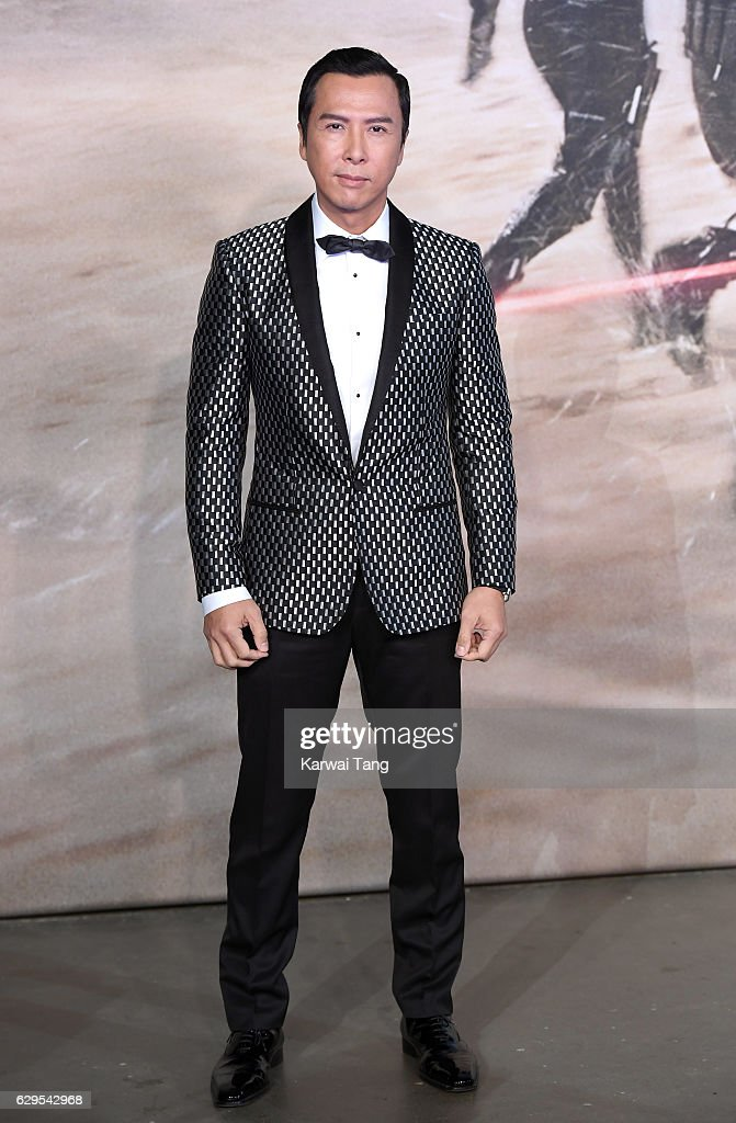 Donnie Yen attends the launch event for 'Rogue One: A Star Wars Story' at Tate Modern on December 13, 2016 in London, England.