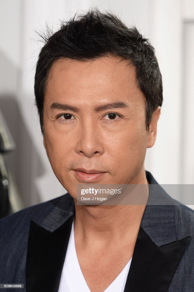 Donnie Yen attends the 'Rogue One: A Star Wars Story' photocall at The Corinthia Hotel on December 14, 2016 in London, England.