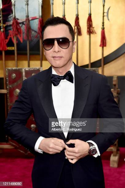 Donnie Yen attends the World Premiere of Disney's 'MULAN' at the Dolby Theatre on March 09 2020 in Hollywood California