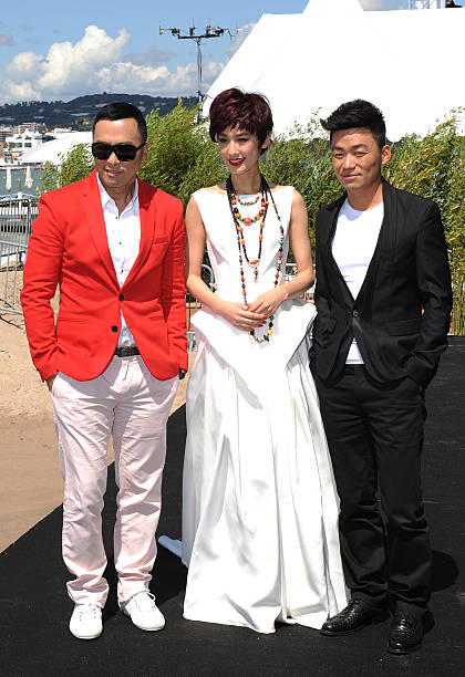 Iceman cometh 3d photocall the 66th annual cannes film festival donnie yen eva huang and wang boaqiang attend the iceman cometh 3d photocall voltagebd Choice Image