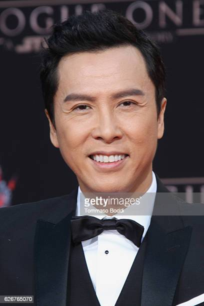 Donnie Yen is honored with a hand and footprint ceremony at TCL Chinese Theatre on November 30 2016 in Hollywood California