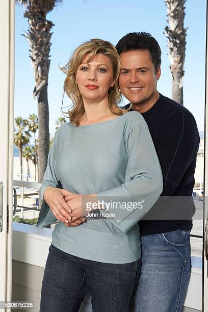 Donny and Debbie Osmond are photographed in 2007 in Santa Monica California