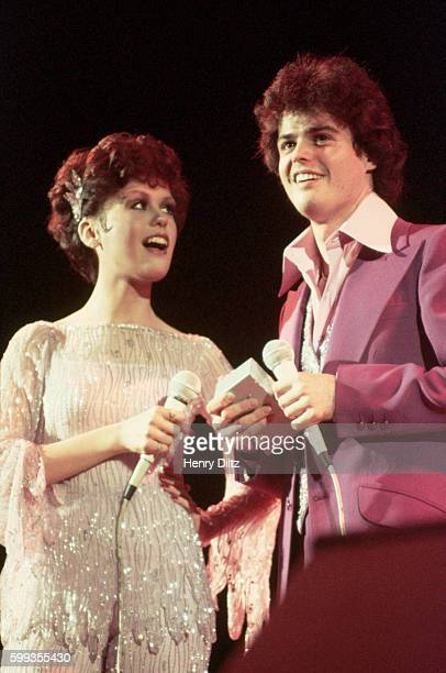 Donny and Marie Osmond Performing Together