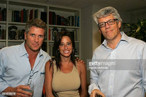 Donny Deutsch Amanda Zacharia and Peter Tolan attend Premiere Screening and Discussion of Rescue Me at Museum of Television and Radio on June 9 2005...