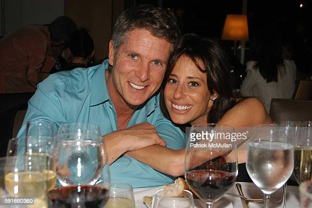 Donny Deutsch and Amanda Zacharia attend Doug Teitelbaum Birthday Party at Jean George's on May 26 2005 in New York City