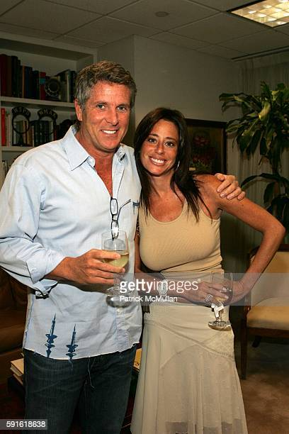 Donny Deutsch and Amanda Zacharia attend Premiere Screening and Discussion of Rescue Me at Museum of Television and Radio on June 9 2005 in New York...