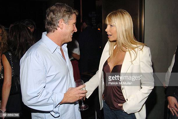 "Donny Deutsch and Lisa Gastineau attend Party for DONNY DEUTSCH and PETER KNOBLER's new book, ""Often Wrong, Never In Doubt"" at The Chambers Hotel on..."