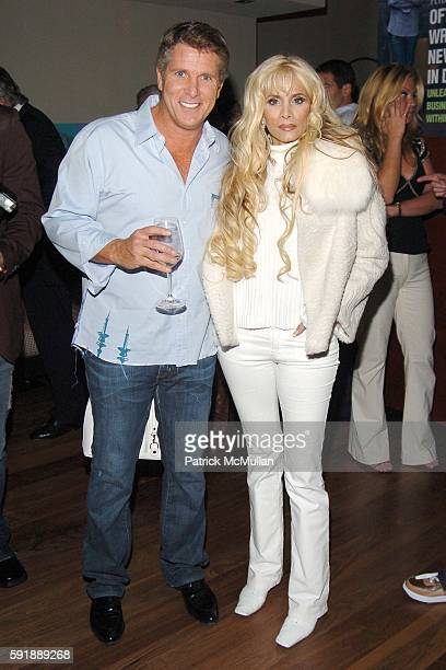 Donny Deutsch and Victoria Gotti attend Party for DONNY DEUTSCH and PETER KNOBLER's new book Often Wrong Never In Doubt at The Chambers Hotel on...