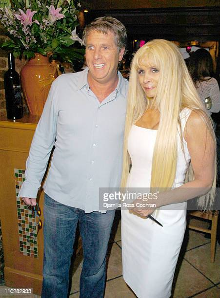 Donny Deutsch and Victoria Gotti during Victoria Gotti Celebrates the Launch of Her New Book Hot Italian Dish May 16 2006 at Nino's Restaurant in New...