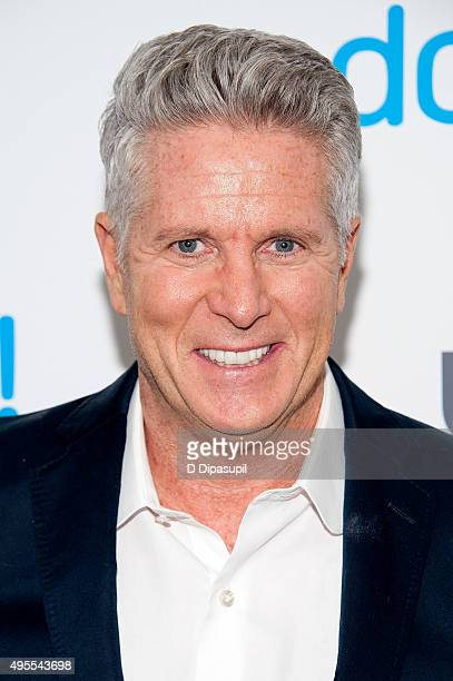 Donny Deutsch attends the premiere of USA Network's Donny at The Rainbow Room on November 3 2015 in New York City