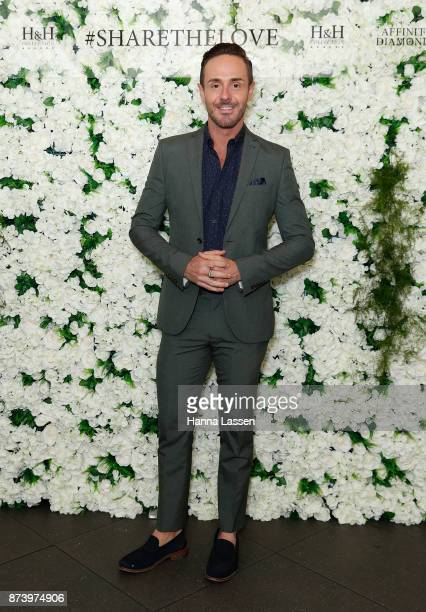 Donny Galella arrives ahead of the Affinity Diamonds HH Collection Launch on November 14 2017 in Sydney Australia