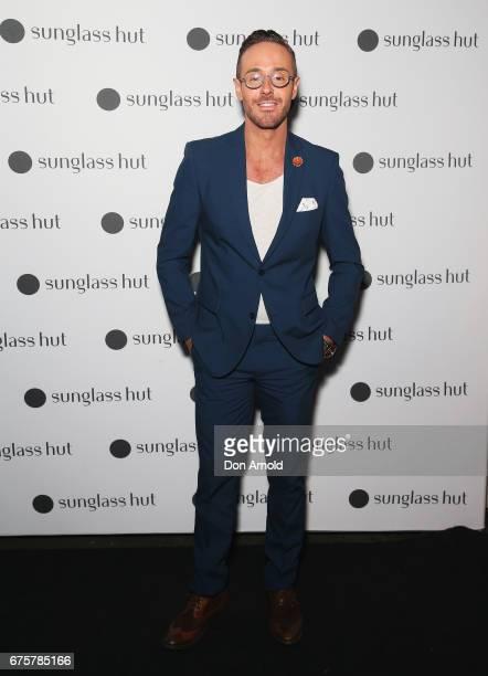 Donny Galella arrives ahead of the Sunglass Hut Mens Eyewear Showcase Dinner at Bar Brose on May 2 2017 in Sydney Australia