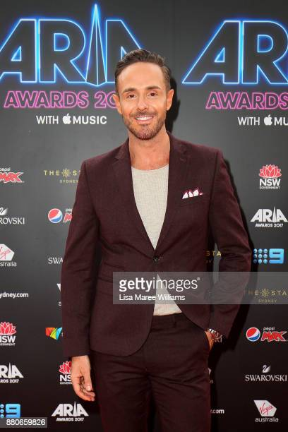 Donny Galella arrives for the 31st Annual ARIA Awards 2017 at The Star on November 28 2017 in Sydney Australia