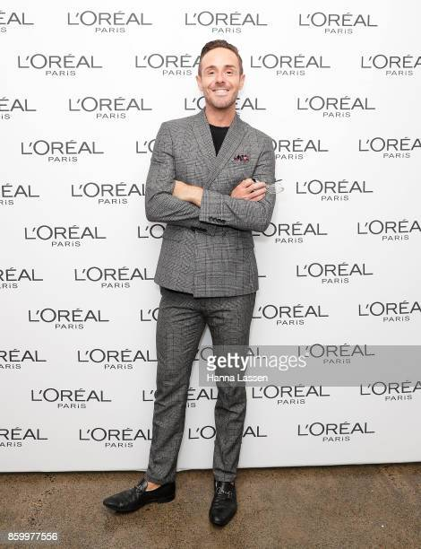 Donny Galella attends a L'Oreal Paris Product Launch on October 11 2017 in Sydney Australia