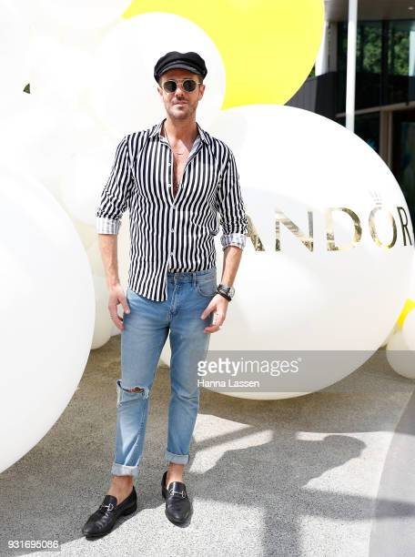 Donny Galella attends the Pandora Gold Party at The Calyx on March 14 2018 in Sydney Australia