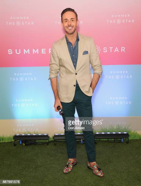 Donny Galella attends the Summer The Star Official Launch at The Star on December 8 2017 in Sydney Australia
