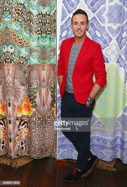 Donny Galella poses at The CAMILLA Beach House on November 25 2014 in Sydney Australia