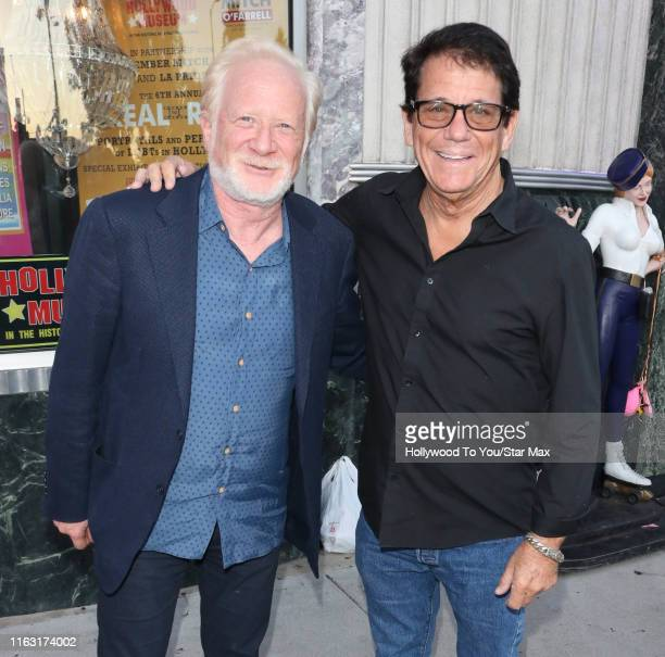 Donny Most and Anson Williams are seen on August 21, 2019 at Los Angeles.