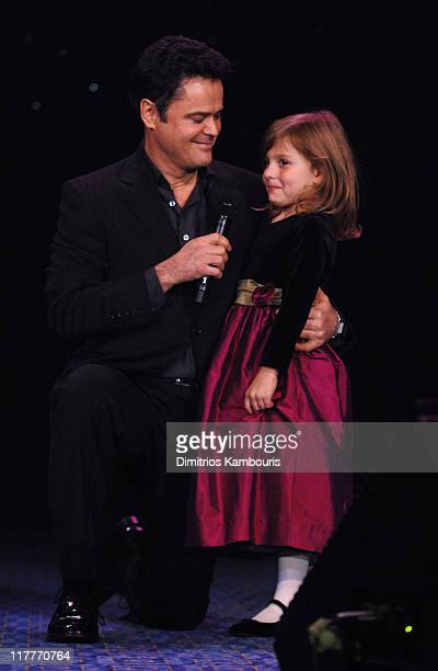 Donny Osmond and guest during Christopher Reeve Foundation Celebrates the Strength and Courage of Christopher Dana Reeve With a Magical Evening...