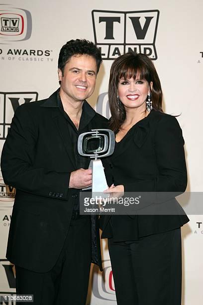 Donny Osmond and Marie Osmond winners of Favorite Singing Siblings