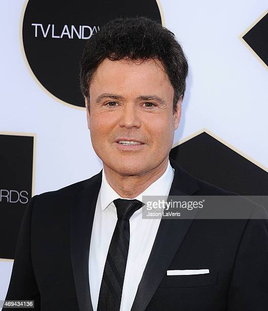 Donny Osmond attends the 2015 TV LAND Awards at Saban Theatre on April 11 2015 in Beverly Hills California