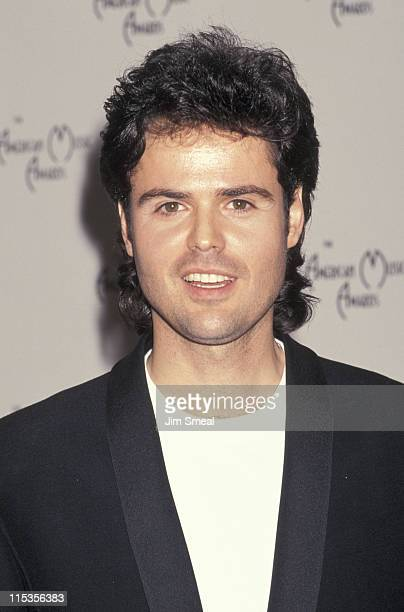 Donny Osmond during 18th Annual American Music Awards at Shrine Auditorium in Los Angeles California United States
