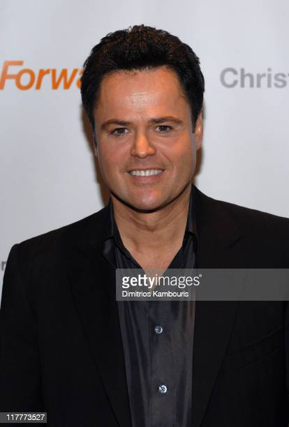 Donny Osmond during Christopher Reeve Foundation Celebrates The Strength and Courage of Christopher Dana Reeve With A Magical Evening Arrivals at...