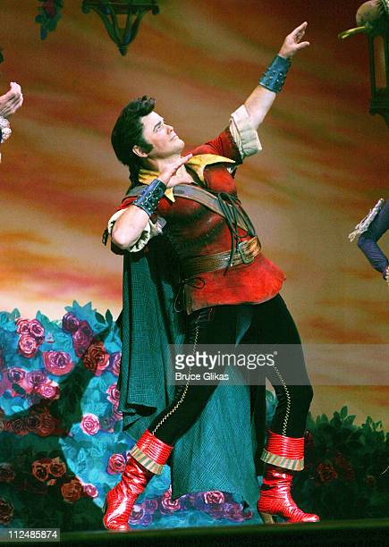 Donny Osmond during Donny Osmond's First Night in Disney's 'Beauty and the Beast' at The LuntFontanne Theater in New York City New York United States