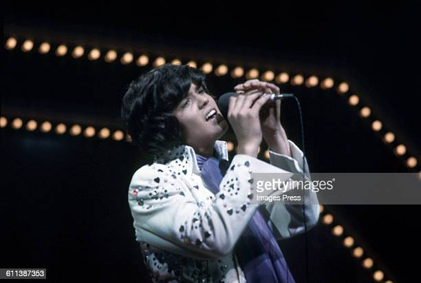 Donny Osmond on stage at the London Palladium circa 1973 in London England